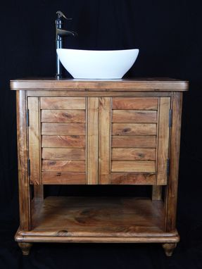 Custom Made Vanity Made From Cherry