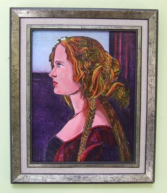 Custom Made Portrait/Painting After Botticelli
