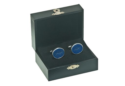 Custom Made Royal Custom Cufflinks In Lapis