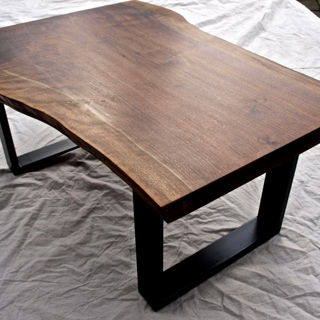 Hand Crafted Live Edge Walnut Coffee Table by WITNESS TREE STUDIOS |  CustomMade.com