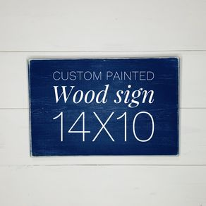 Custom Signs | Personalized Wood Signs | CustomMade com