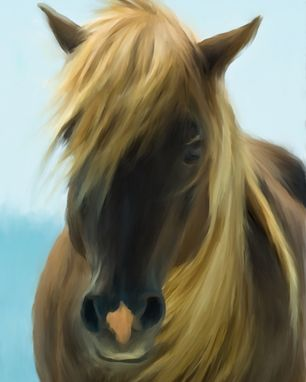 Custom Made Horse Painting - Custom Painting