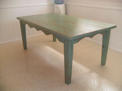 Custom Made Reclaimed Wood Dining Table Custom Made In The Usa From Reclaimed Wood