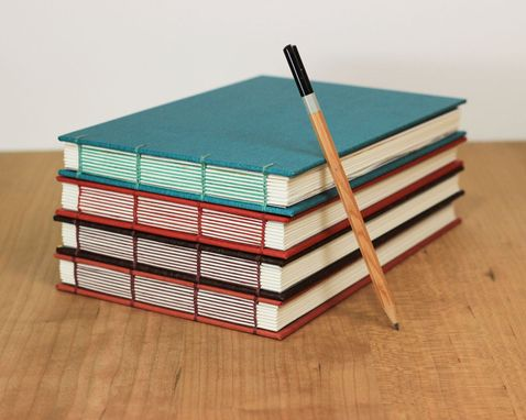 Custom Made Journal Or Sketchbook, Optional Watercolor Paper (Build-Your-Own)