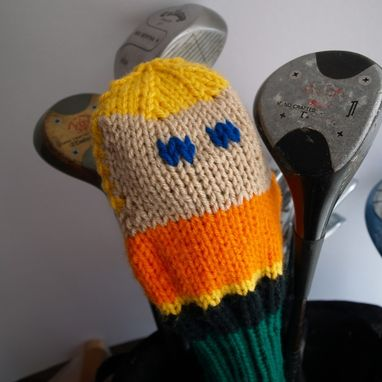 Custom Made Knit Pattern Aquaman Golf Club Cover Pdf
