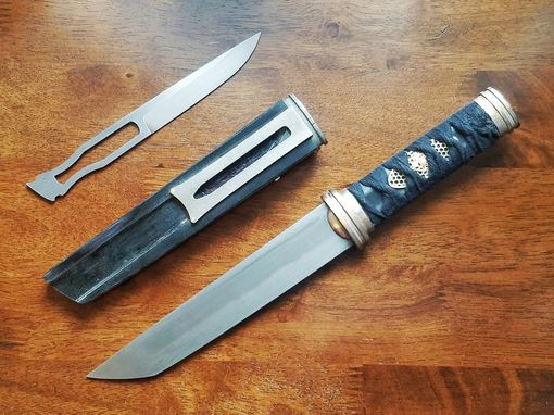 Custom Made Tanto And Kogatana Knife Set