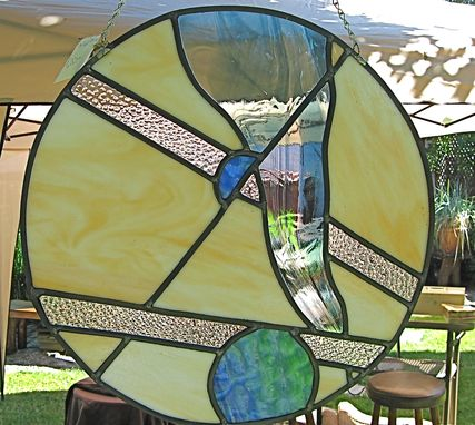 Custom Made Stained Glass Window