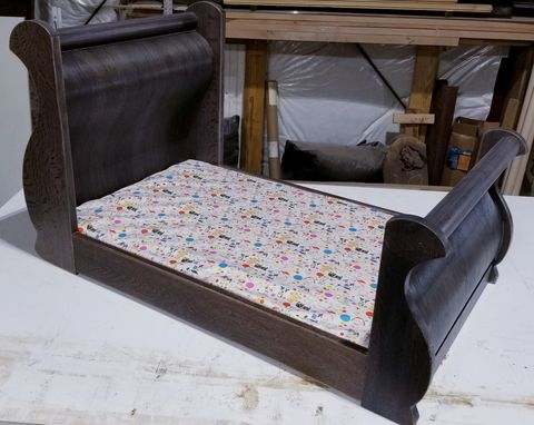 Custom Made Customized Sleigh-Bed