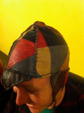 Custom Made Leather Hat