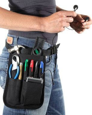 Custom Made Basic 9 Pocket Multi-Use Hipnotions Tool Belt
