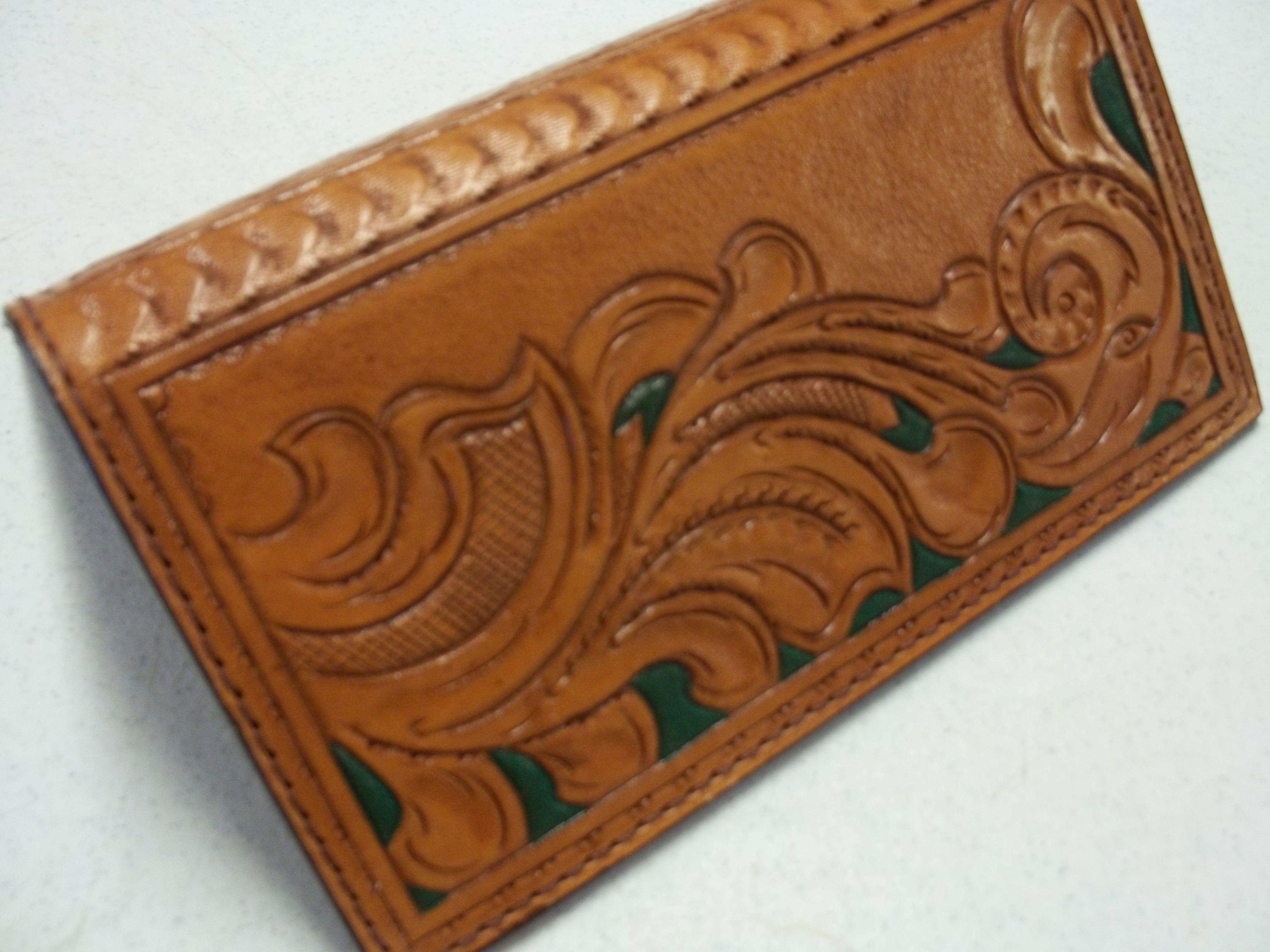 a0bf293c2b07b Handmade Roper Style Leather Bi-Fold Wallets by Bluehorn Custom ...