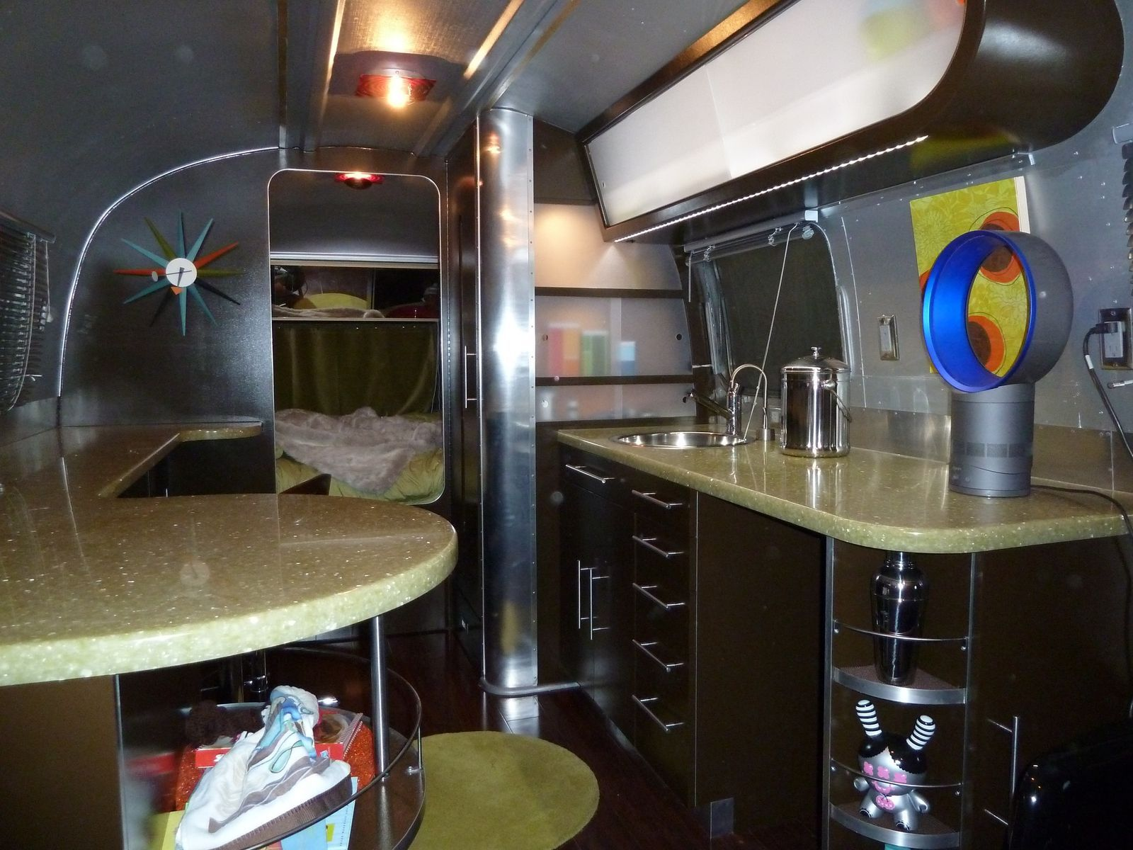 Hand Made Custom Trailer Airstream Remodel By Studio G