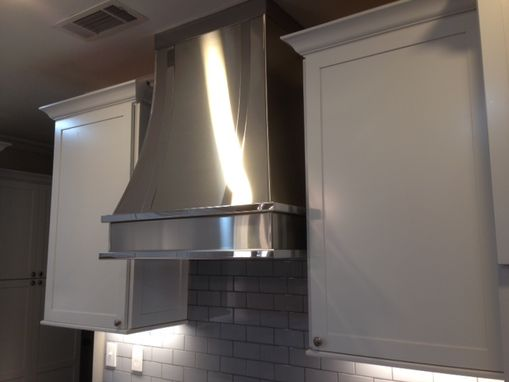 Custom Made Stainless Steel Range Hood S5