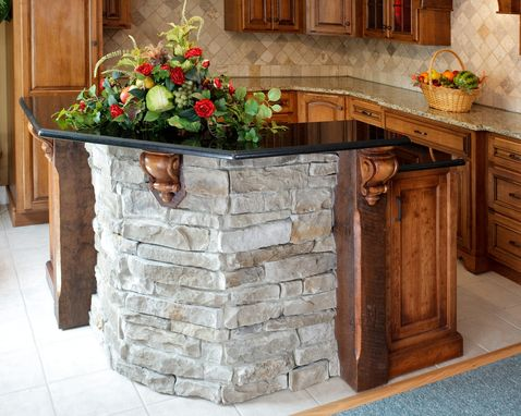 Custom Made Custom Kitchen Island