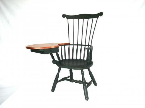 Custom Made Writing Arm Windsor Chair