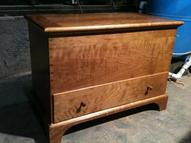 Handmade Shaker Blanket Chest By Artisan Wood Collection