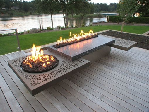 Custom Made Fire Feature
