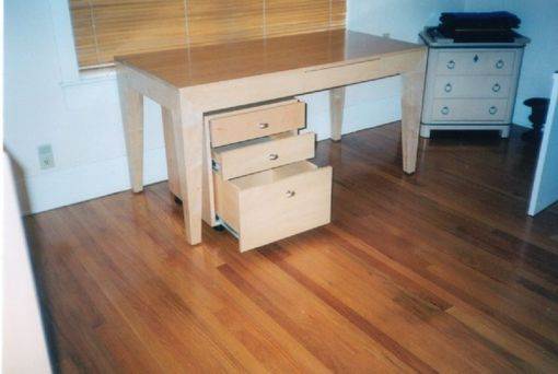 Custom Made Maple Desk