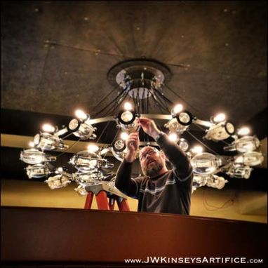 Custom Made The Brannon Chandelier: A Custom Chandelier