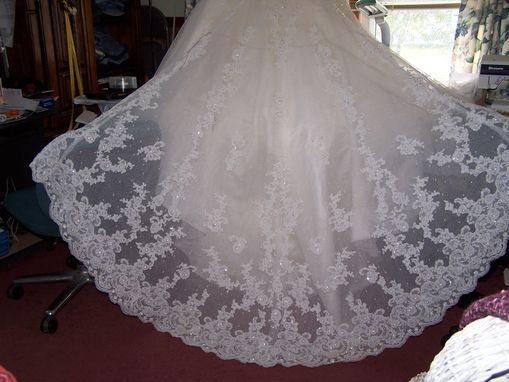 Custom Made Wedding Gown Conversion To Christening Gnown