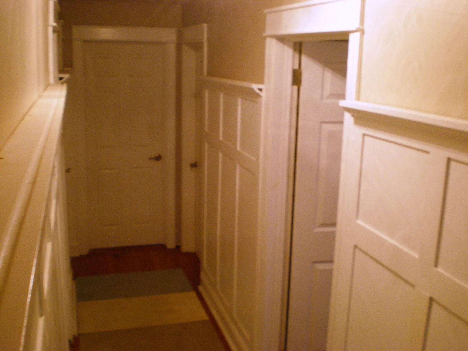 Custom Hallway Paneling By Northeast Furniture Studio