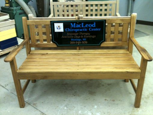 Custom Made Garden Benches