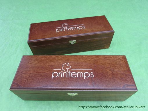 Custom Made Custom Wooden Boxes For Maple Products