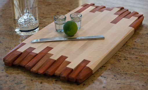 Custom Made Artful Handmade Cutting Board