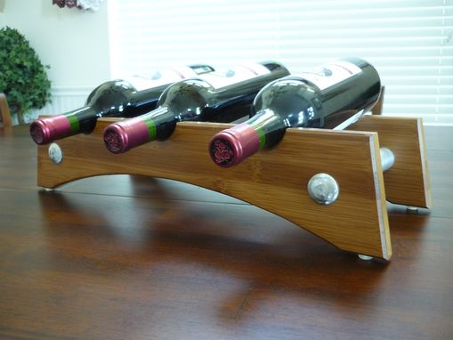 Custom Made Bottle Cradle