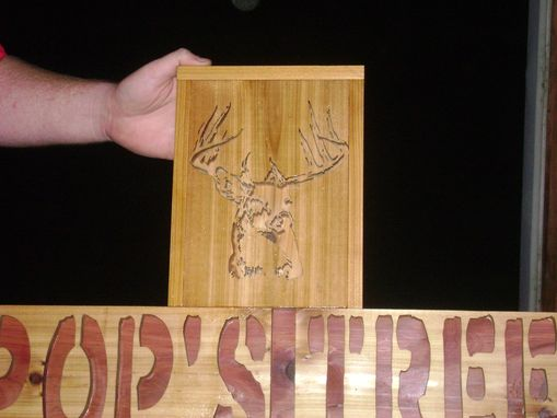 Custom Made Sign For Hunting Tree