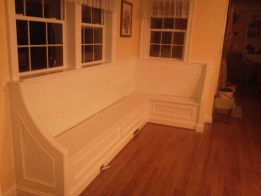 Custom Made Dining Nook Built-In Benches