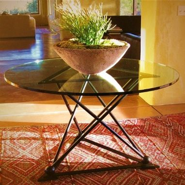 Custom Made Custom Fabricated Table Base