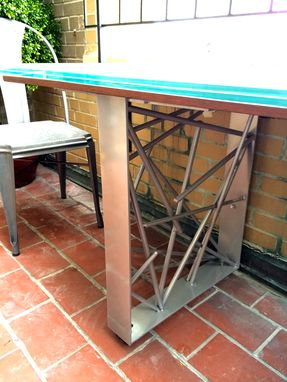Custom Made Rhapsody Table - Custom Design For Balcony Installation