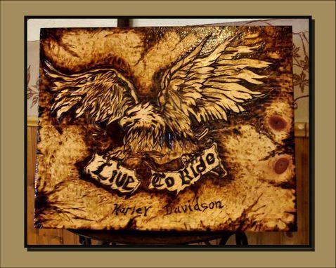Buy A Hand Made Anniversary Gift Harley Davidson Harley