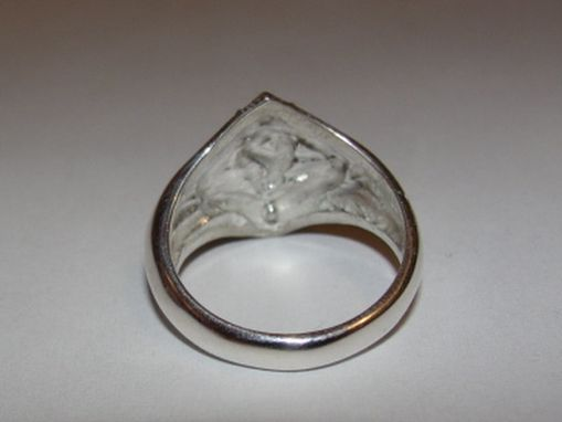 Custom Made Sterling Silver Cub Boy Scout Ring