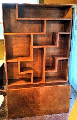 Custom Made Tetris Shelving Unit