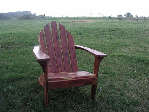 Custom Made Adirondack Chair Finished