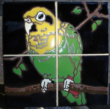 Custom Made Custom Hand Glazed Art On Tile Murals And Decos
