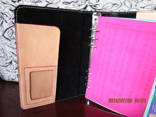 Custom Made Leather Notebook Cover
