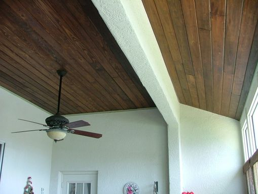 Custom Made Sunroom Ceiling
