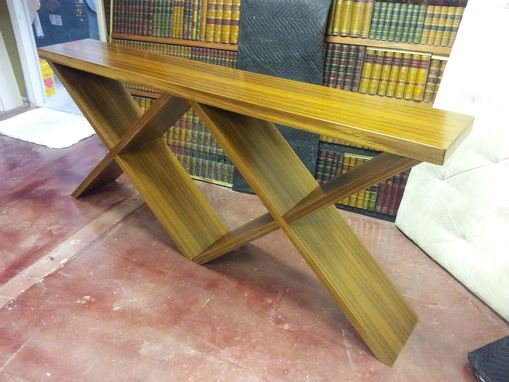 Custom Made Teak Sofa Table