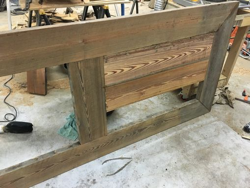 Custom Made Vintage Reclaimed Heart Pine Dinning Table