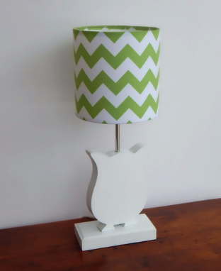 Custom Made Handmade Wooden Animal Lamps For Nursery, Kids Room