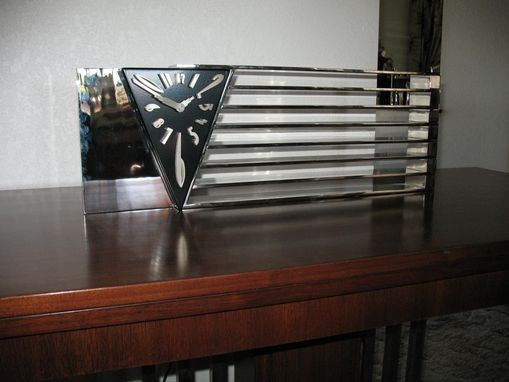 Custom Made Vintage Restored Console, Dining Table By Art Deco Icon Donald Deskey
