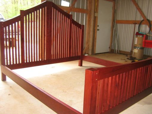 Custom Made Cherry Bed Frame