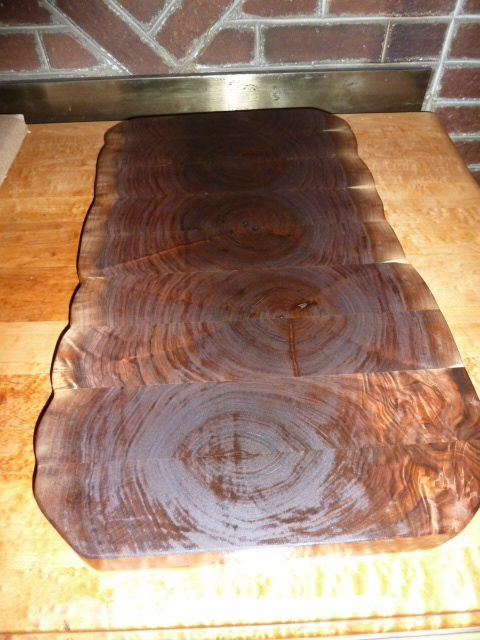 Custom Walnut End Grain Chopping Board Butcher Block