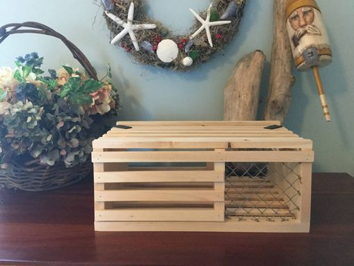 Custom Made Lobster Trap Gift/Card Box