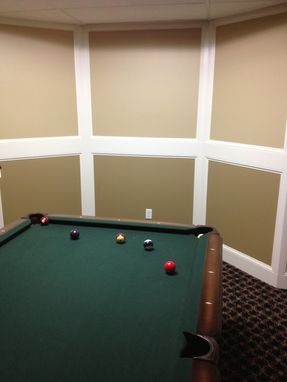 Custom Made Billiard Room