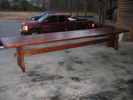 Custom Made Custom Built Ole Wood Trestle