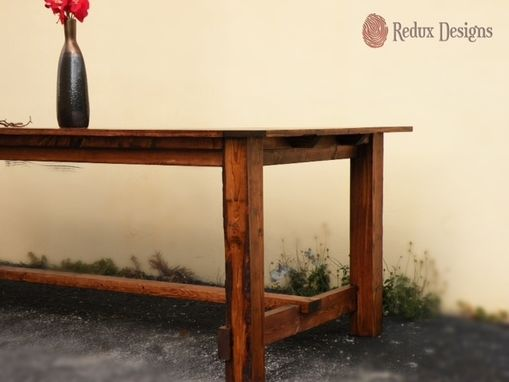 Custom Made Hand Built Farmhouse Table